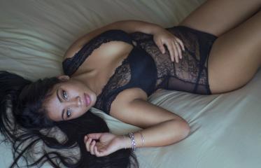 lingerie hair girl beautiful black