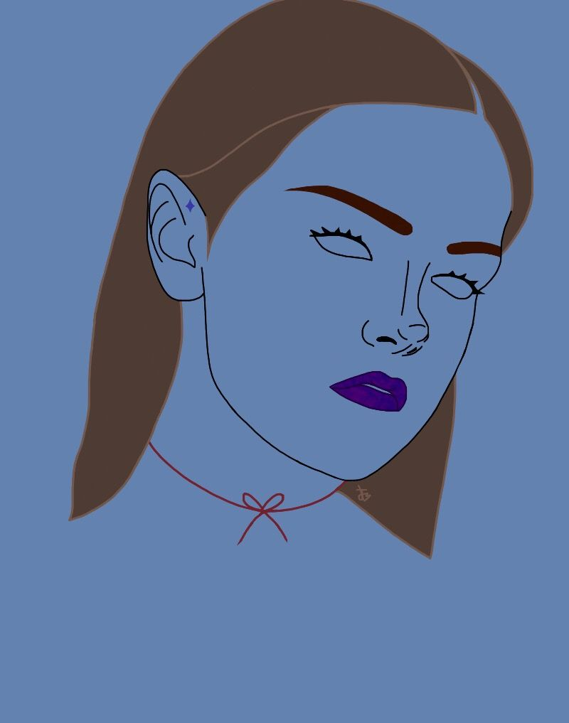 Kept Down P.2 Band: Mother Mother Featured model: @sentient_meat modelling for  Ladygunn.com#interesting #art #tumblr #tumblroutline  #tumblroutlines #drawing #digitaldrawing #digital #digitalart #aesthetic #FreeToEdit