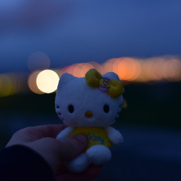 dpclights bokeh bokehphotography hellokitty nightphotography