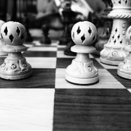 chess chessgame chessboard chessbattle blackandwhite freetoedit