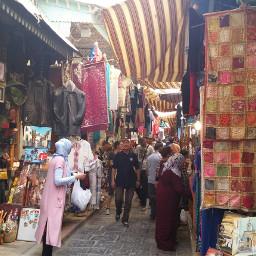 tunisia souk turism