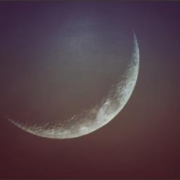 waxingcresent moon