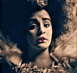 freetoedit clown queenofhearts portrait face