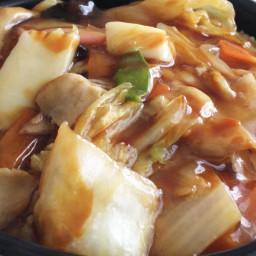 yummy foodporn chinesefood squid pork