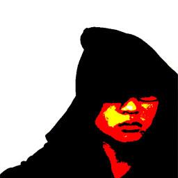 enhancement saturation color dark hoodie