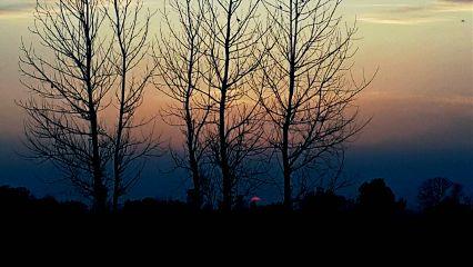 today travel photography sunset haze freetoedit