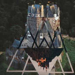 surreal castle momentslikethese freetoedit