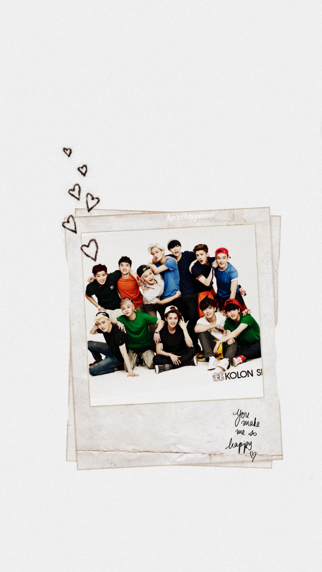 Exo Ot12 Lockscreen Image By Mau