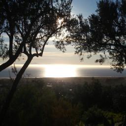freetoedit sunsetsky beautifulday hilltop holy