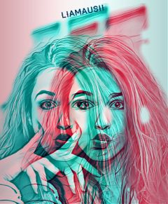freetoedit doublecolorexpo loveit art interesting