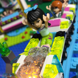 dpclego legos legofriends kidstoys rollercoaster