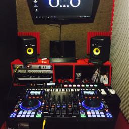 dj producer studio bass music freetoedit