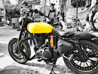 freetoedit bike colorsplash yellow motorcycles