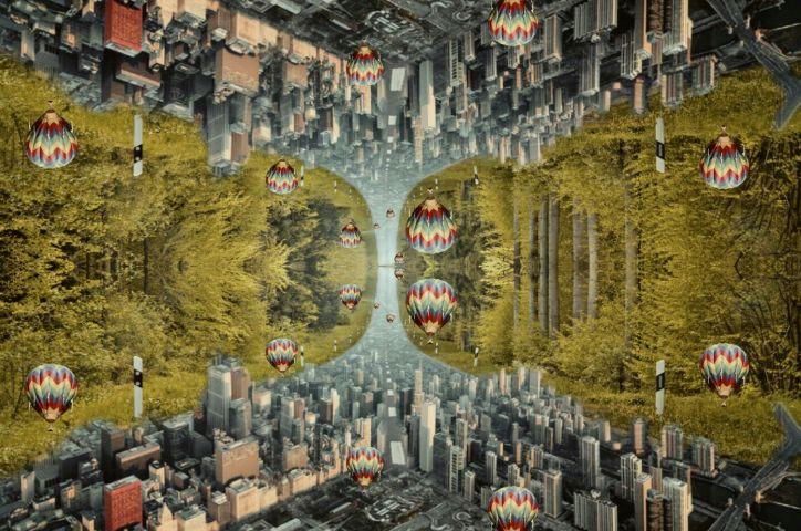 freetoedit mirrored forestremix