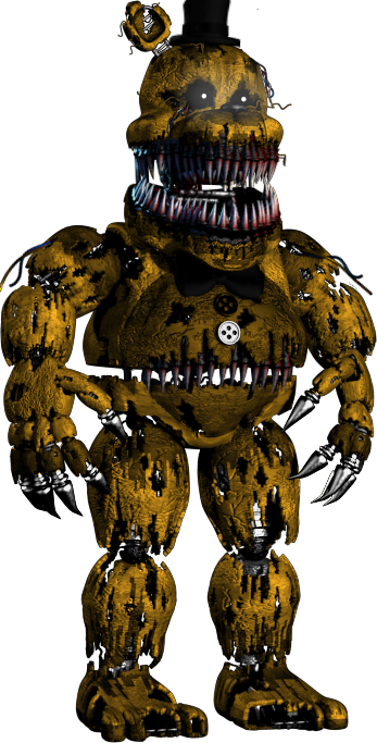 FreeToEdit nightmare withered golden freddy fnaf fnaf2...