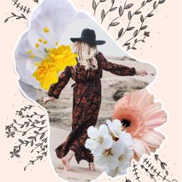 flowercollage myedit remixed