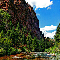 nature river rockformations colorful sunnydays freetoedit